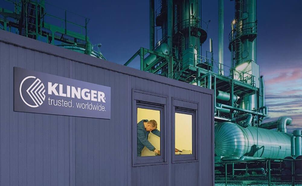 KLINGER shutdown services: Minimum downtime of your plant